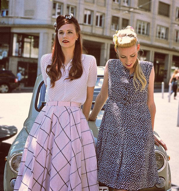 50s fashion key looks of the decade