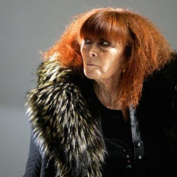 Portrait of Sonia Rykiel.
