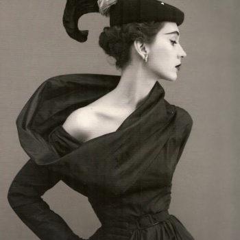 Cristobal Balenciaga - 1953 evening gown