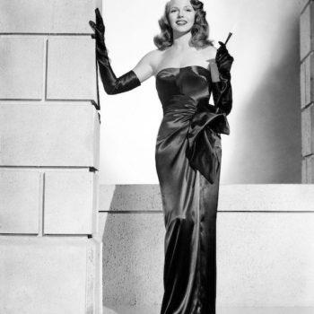 Rita Hayworth in Gilda - fashion in film