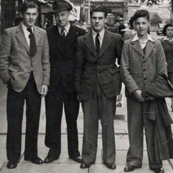 1940s Mens fashion - Demob suit