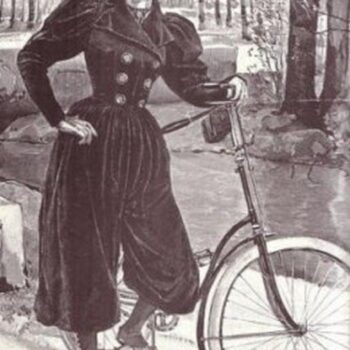Bloomer - Cycling - Rational Dress-A rather dashing women's cycling costume