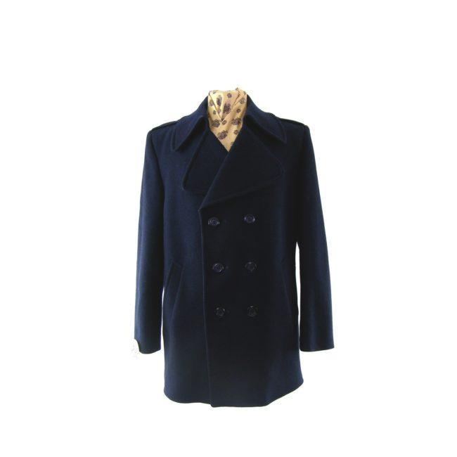 Navy Blue vintage Pea coat