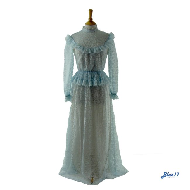 Victorian inspired Maxi Dress