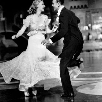 photo of Ginger Rogers and Fred Astaire in Top Hat, 1935