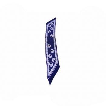 1940's vintage silk neckscarf from blue17
