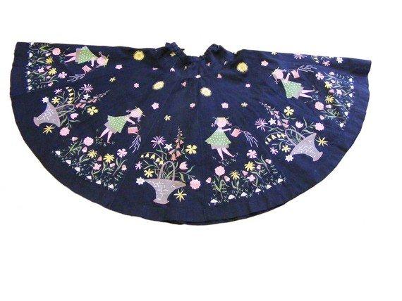Full circle 1950's skirt from blue17