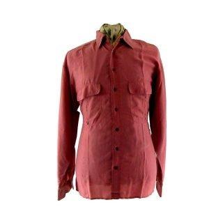 Retro silk shorts - 90s-silk-shirt-