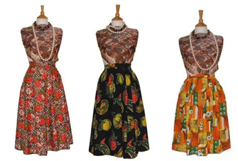 1950s skirts from Blue17vintage