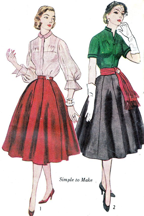 Typical 50s skirt