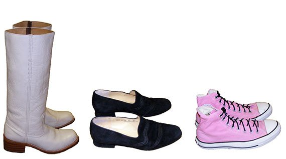 womens vintage footwear- vintage shoes, boots, pumps and sandals