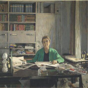 1933 Portrait of Jeanne Lanvin (1867-1946)