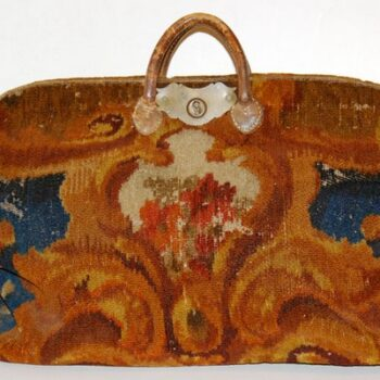 Vintage Womens Tapestry Bags - Victorian tapestry bag