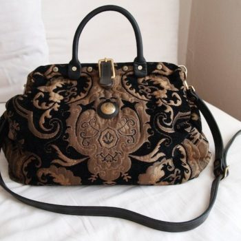 Vintage Womens Tapestry Bags - Victorian style tapestry bag
