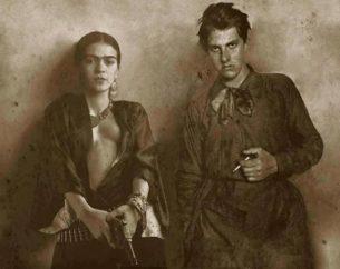 Frida Kahlo and Vladimir Mayakovsky.
