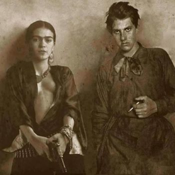 Frida Kahlo and Vladimir Mayakovsky.