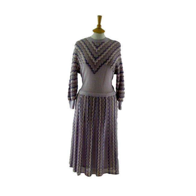 Lilac-80s-vintage-dress