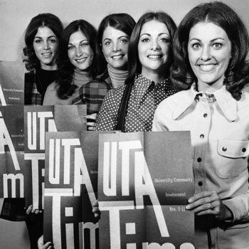 Womens 1970s vintage tops - University of Texas Queen candidates, 1972