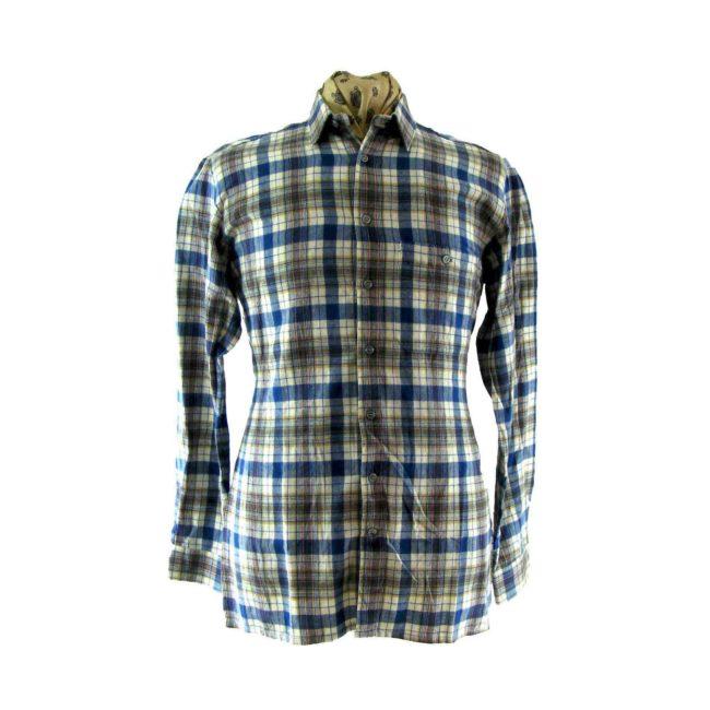 Multicolour vintage Plaid Shirt