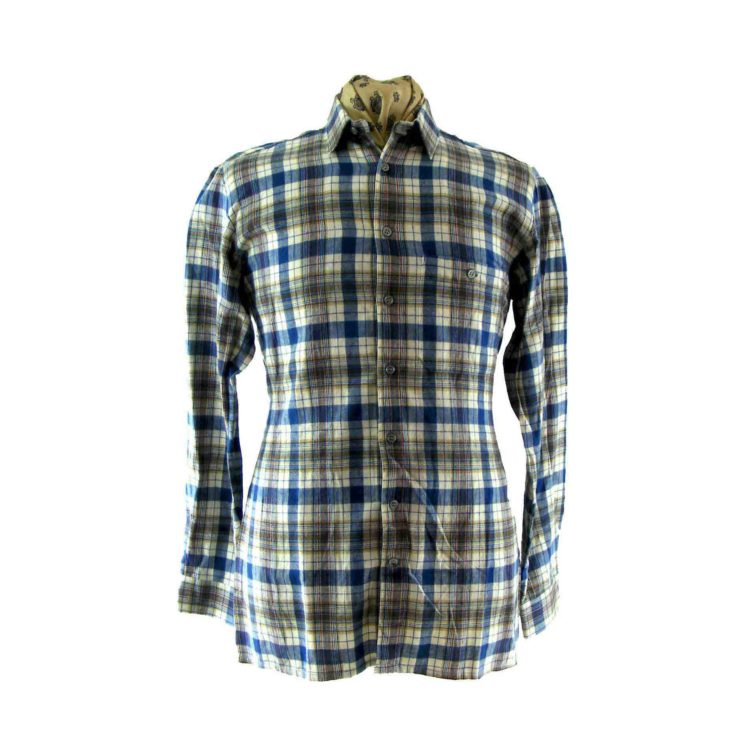 Multicolour vintage Plaid Shirt