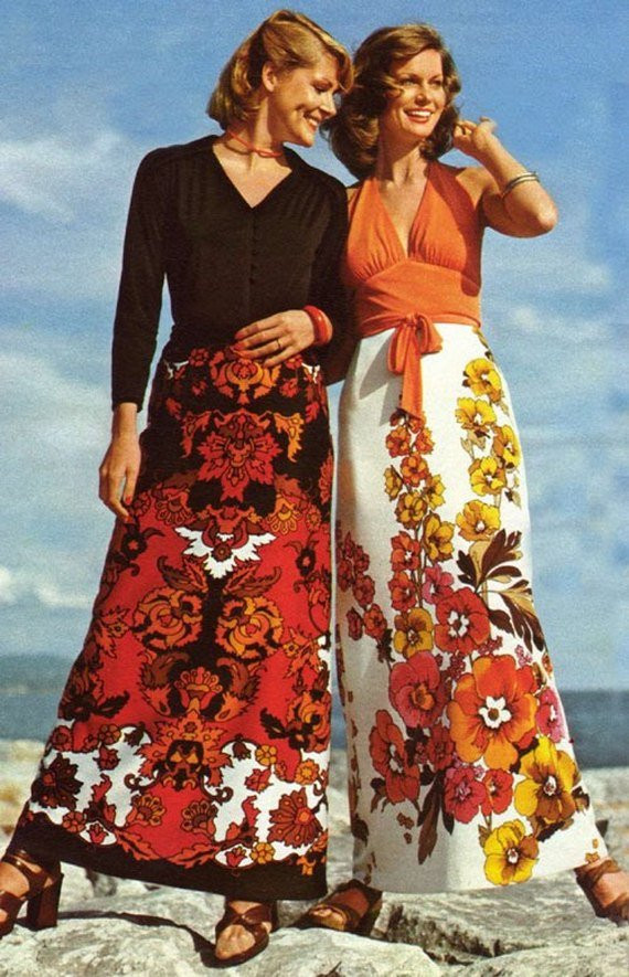 Model Women39s Fashion From A 1970 Catalog Found On Retrowastecom  1970s