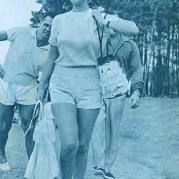 Womens vintage 1960s tops, Mirtha Legrand en Punta del Este, 1960s