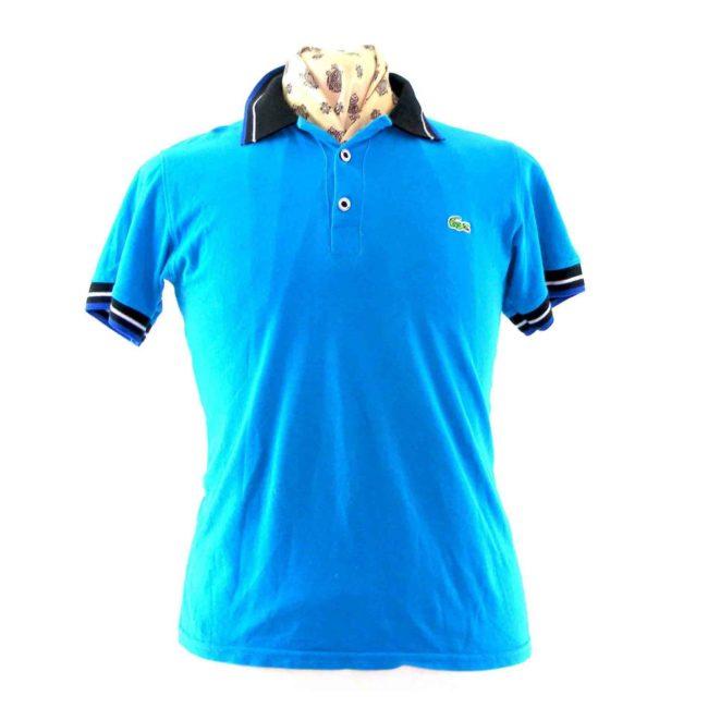 Blue Lacoste polo shirt