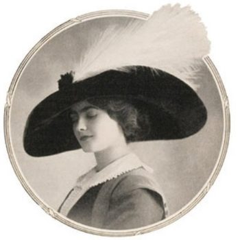 Gabrielle Chanel wearing one of her own hats.Chanel-Part 2