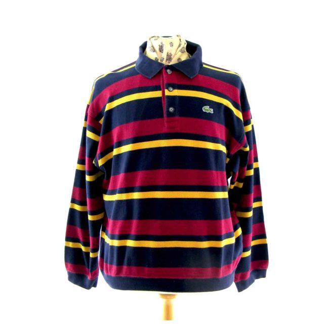 Lacoste multicolour polo shirt