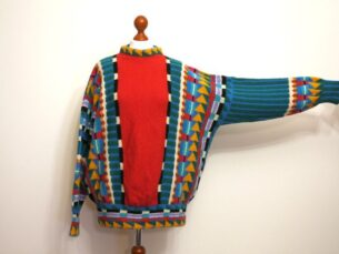 womens vintage 80s sweaters- colours