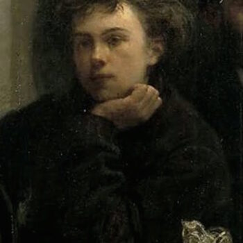 Ann Demeulemeester Menswear - Rimbaud-as-depicted-by-Henri-Fantin-Latour-in-his-'The-Corner-of-the-Table, 1872