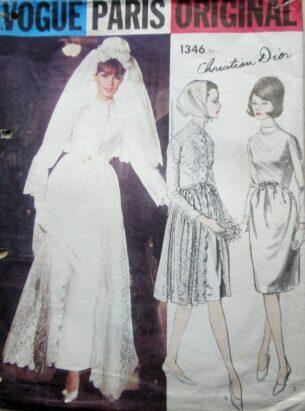 Vintage Weddings-vogue paris wedding patterns