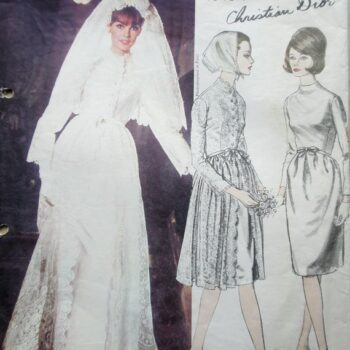Vintage Weddings-vogue paris wedding patterns
