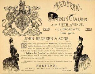 John Redfern - advert for New York
