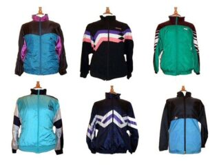 80s Shell Suit Tops