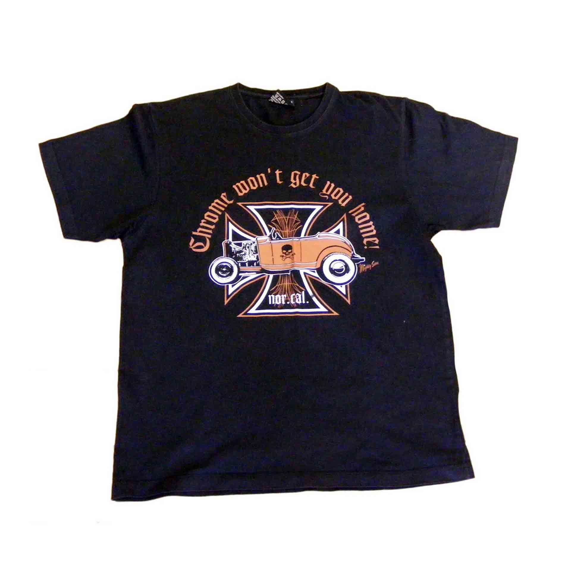 King Kerosin T Shirt M Vintage Clothing Blue 17