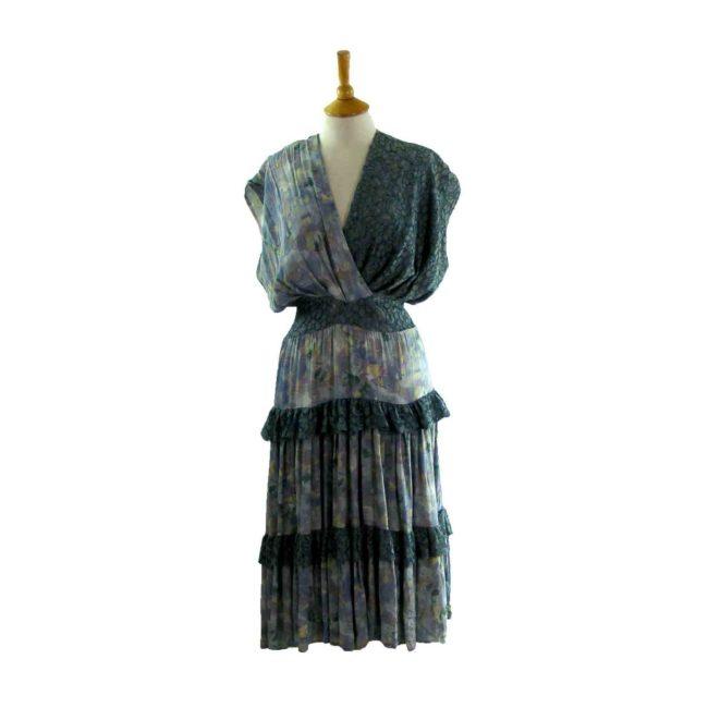 80s Layered Dress
