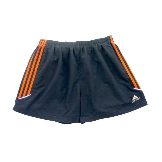 Adidas grey and orange shorts