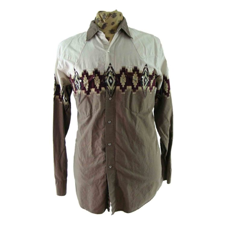 90s South West Patterned Shirt