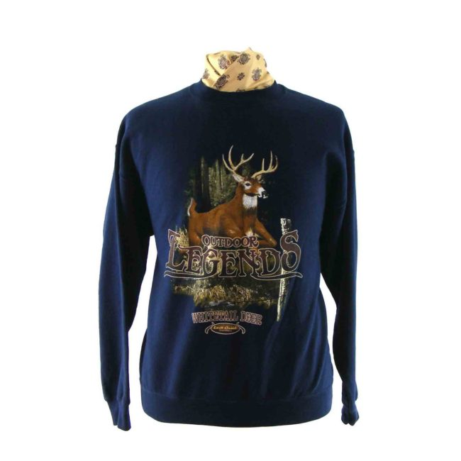 Stag print sweatshirt
