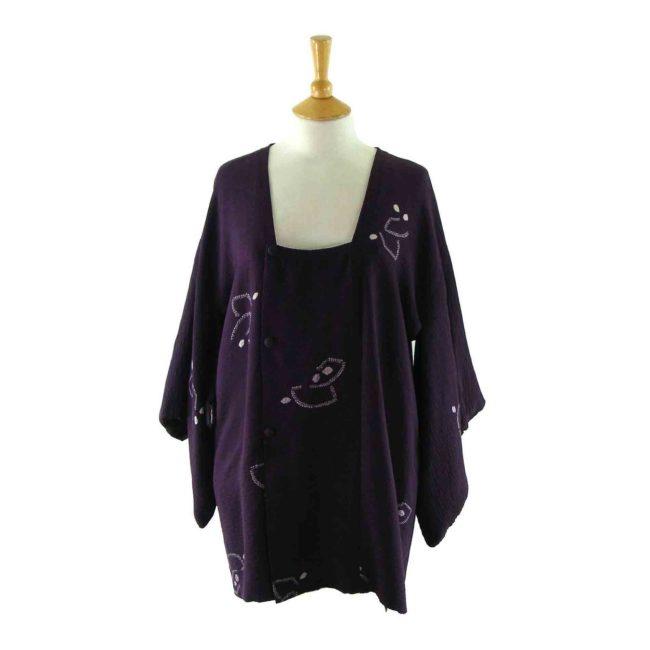 Purple Michiyuki jacket