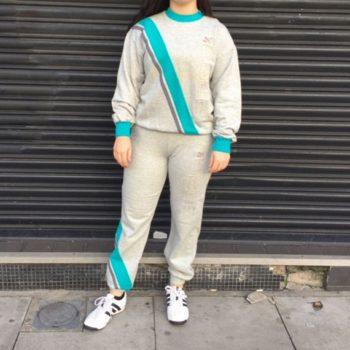 vintage sportswear - Puma Grey Tracksuit