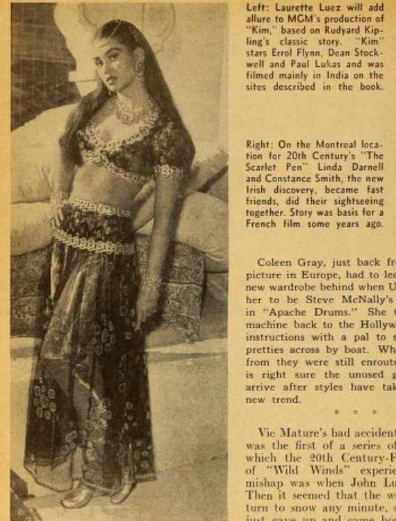 """Laurette Luez, the star of """"Kim""""."""