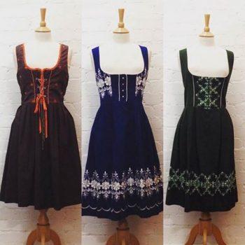 Vintage Tyrolean dresses