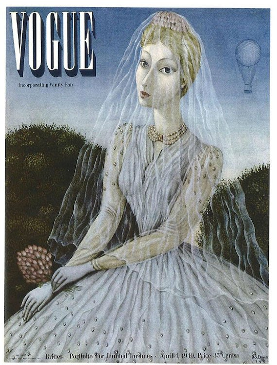 Vogue cover by Milena Pavlovic Barilli.