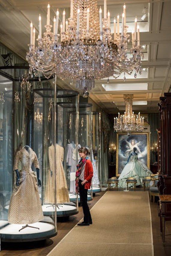 A display at Chatsworth