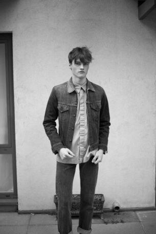 Mens Vintage Fashion Photo shoot - Hugo low - Hugo low-101