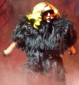 Philip Treacy - Lady Gaga in feathers