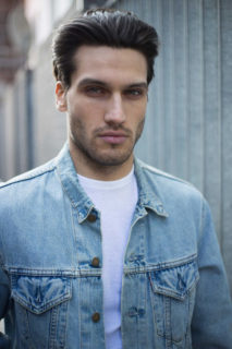 Mens Fashion Photo shoot - Petar- levis jean jacket from Blue17