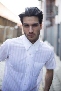 Petar models vintage airtex shirt